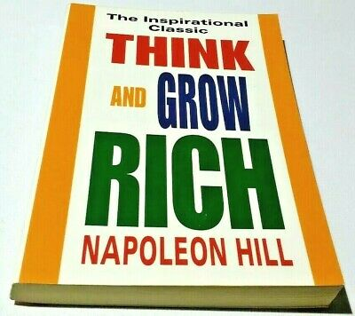 Think and Grow Rich By Napoleon Hill Paperback Like New