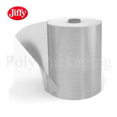 JIFFY BRANDED SMALL Bubble Wrap 500mm x 100m (1 Full Roll)Premium Straight Tear