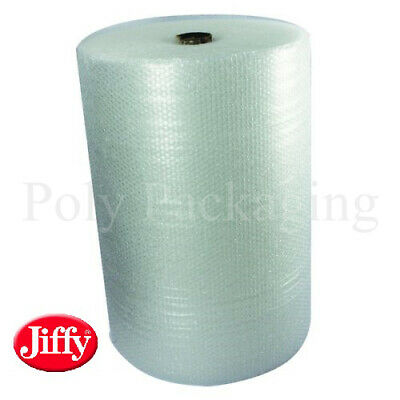 JIFFY BRANDED SMALL Bubble Wrap 750mm x 100m(1 Full Roll)Premium Straight Tear