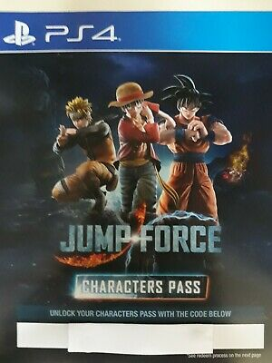 DLC Jump Force Characters Pass Playstation 4