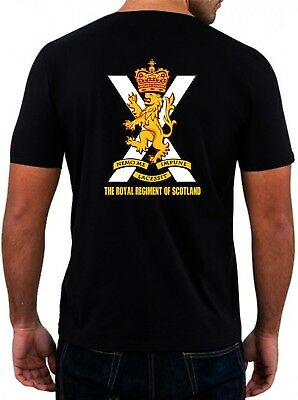 Royal Regiment of Scotland TShirt RRS T-Shirt Scots