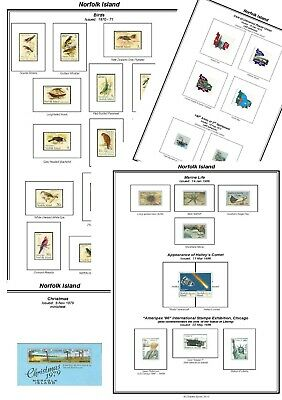 Print your own Papua New Guinea Stamp Album, fully illustrated and annotated