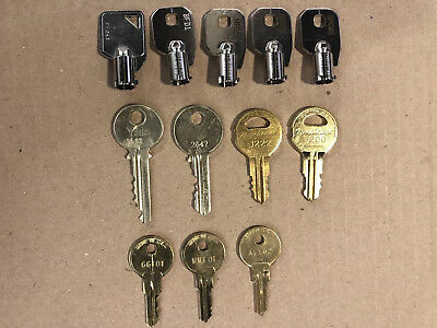 12 Elevator Keys (ask For Individual $6.00 Plus Shipping)