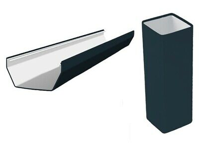 Anthracite Grey Squareline Guttering