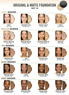 Bare Minerals Original SPF 15 Foundation- pick your shade -RRP £27 -FREE post ❤️