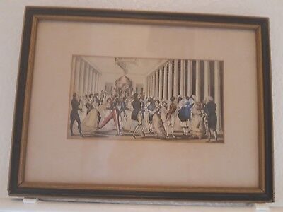 Antique Early 19th Century Hand Coloured  Caricature