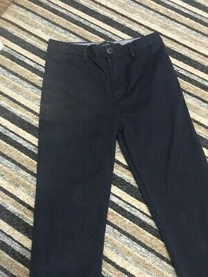 Boys River Island Chinos Navy Blue Age 10 Years