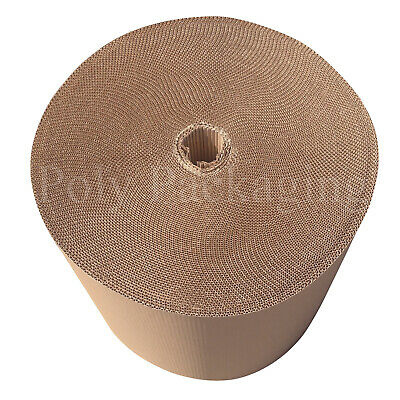 500mm Wide CORRUGATED CARDBOARD PAPER ROLLS Postal Packaging Wrapping Parcels