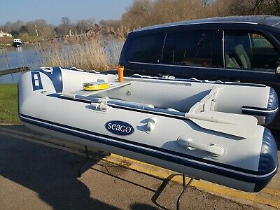 SEAGO 280 INFLATABLE Dinghy with Hypalon Tubes, Air Deck and all accessories