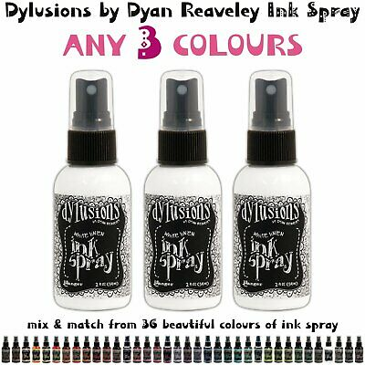 Dylusions Ink Spray - Any 3 Colours - Choose Your Own