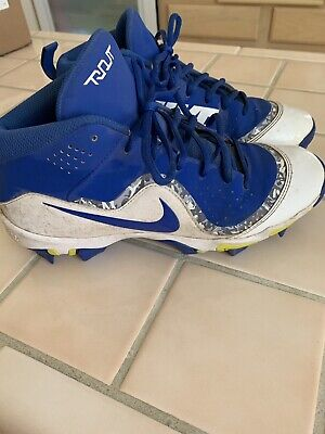094f02a92c4 BOYS NIKE BASEBALL Cleats Force Trout 4 Keystone AH7007-441 Size 6.5 ...
