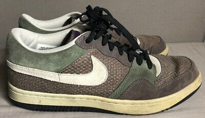 Nike Court Force Low Hemp Rare Le 2006 Shoes Ironstone army Olive 313561-011 bd3a08007753