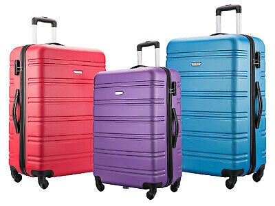 55X40X20 Ryanair Easyjet Ba Jet 2 Cabin Hand Luggage Suitcase Carry On Case Bag