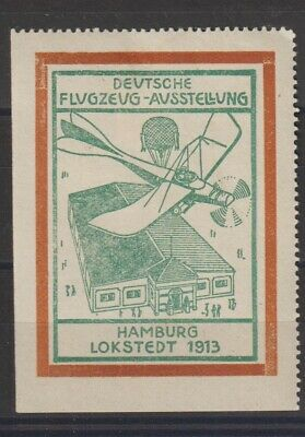 German Poster Stamp Aircraft  (large)