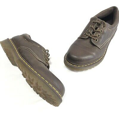 0981268ea169 Dr. Martens Mens Brown Leather 5 Eye Lace Up Rugged Shoes Size 8 MSRP  127