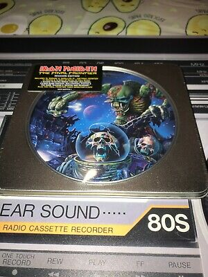 Iron Maiden The Final Frontier  Mission Edition Cd Metal Tin New And Sealed