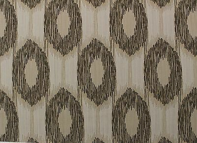 "Outdura Rhythm Coin Large Cats Eye Gemoetric Outdoor Indoor Fabric 7.5 Yard 54""w"