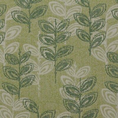 "Outdura Branch Fern Green Multiuse Outdoor Indoor Jacquard Fabric By Yard 55""w"