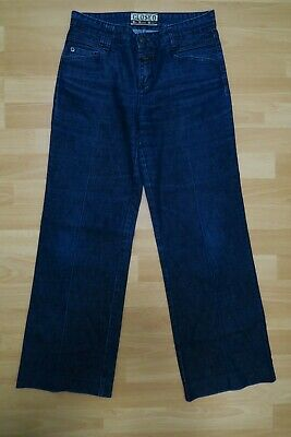 CLOSED Damen Jeans Hose W28 Blau Denim Straight Gerade nLeg Destroyed NP 189 NEU