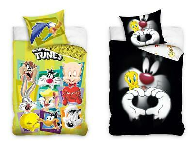 Looney Tunes Cartoon Network Bettwasche Bugs Bunny Tweety Daffy Duck Coyote Neu
