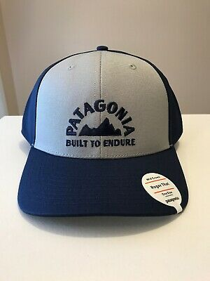 PATAGONIA MEN S BUILT TO ENDURE GEOLOGERS ROGER THAT HAT Travel Trucking  Hiking bc7a747d68e1