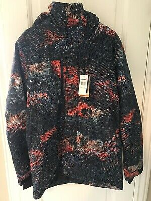 d878190c9ee3 NWT ~ QUIKSILVER Travis Rice Mission Printed Jacket ~ Marine Iguana ...