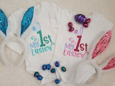 Baby My 1st Easter Bodysuit