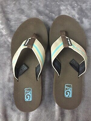 93abcedc83f Womens Size 6 Slip-On TEVA Original Mush Thong Flip Flops - Brown shoes