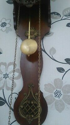 Lovely antique chimming wall clock. very heavy clock winsford cw7 pick up only
