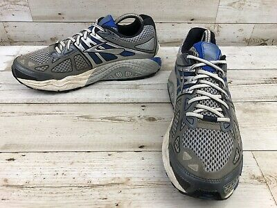 a7c689ab11b67 Brooks Beast 14 Silver Trail Running Shoes Men s Size 10.5D Athletic  Sneakers