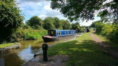 ONE WEEK LUXURY 6-Berth Narrowboat Canal Barge holiday