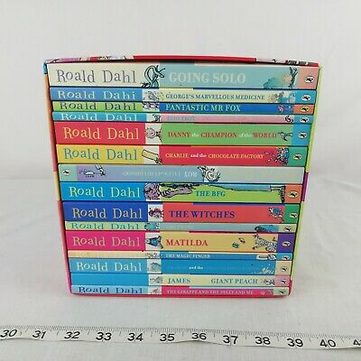 Roald Dahl Collection - 15 Paperback Book Boxed Set unread