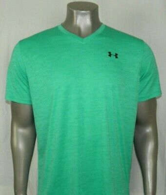 Under Armour HeatGear Short sleeve Loose Fit T-Shirt Color: Green, New!!!