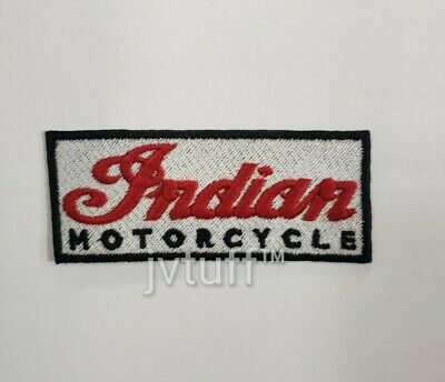 Indian Motorcycle Embroidered Patch, Biker, Iron On or Sew On *BUY 3 GET 1 FREE*