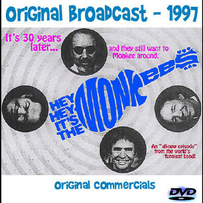 Hey, Hey, It's the Monkees DVD 1997 Reunion Special - Original Group
