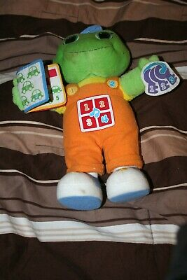 Leap Frog Learning Friend Tad Plush Singing Numbers Colors English used
