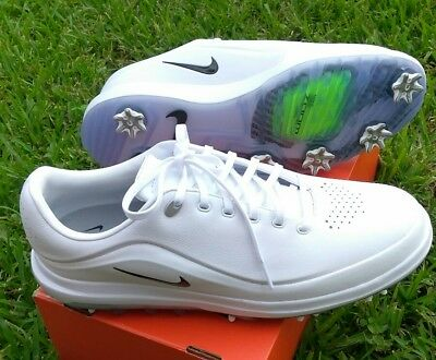 low priced 24915 3a23f 9.5 MENS Nike Air Zoom Precision White Grey 866065 GOLF SHOES 2018 BLACK  NEW