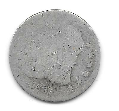 US Capped Bust half dime, minted in 1836 (#1)