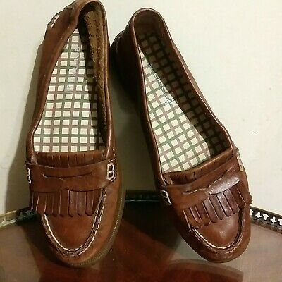 2330b420bd3 SPERRY TOP SIDER Avery Leather Kiltie Penny Loafers Boat Shoes ...