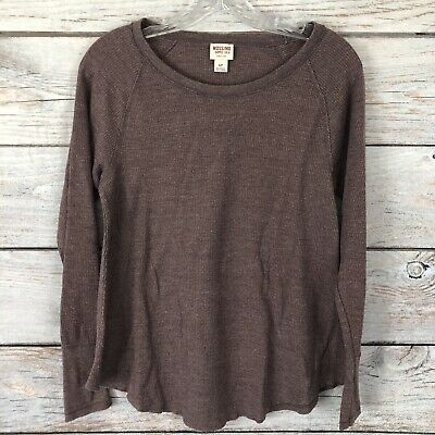 Choice Color Mossimo Supply Themal Shirt Long Sleeve NWOT 3M1