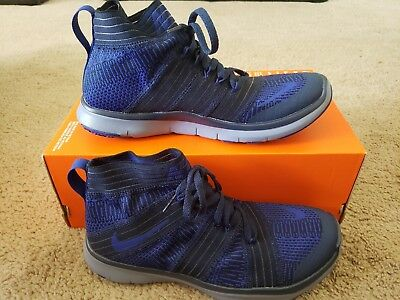 a27b354d32f Nike Free Train Virtue Shoes Athletic Navy Deep Royal Shoes 898052 401 Size  6.5