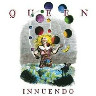 "Queen ""innuendo"" Cd 2011 Remastered New"