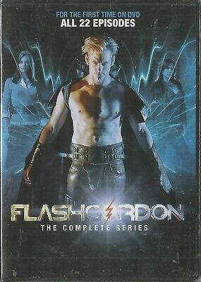 Flash Gordon The Complete Series (2013) Dvd Brand New Sealed
