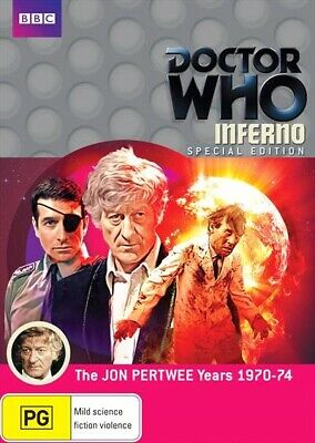 Doctor Who - Inferno - Special Edition DVD |  Jon Pertwee Years 1970 - 1974 BBC