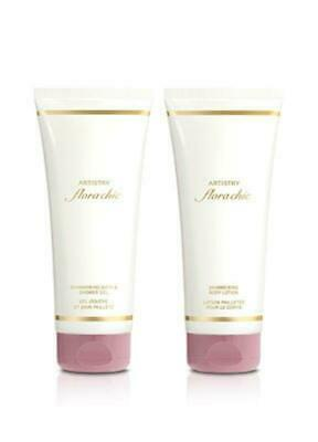 Amway Artistry flora chic Shimmering Bath & Shower Gel + Shimmering Body Lotion