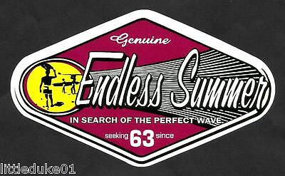 THE ENDLESS SUMMER Sticker Decal Surfboard UTE VAN FORD HOLDEN KOMBI VW Surfing