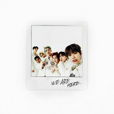 [MONSTA X]2nd Album Take.2 'WE ARE HERE' Official Polaroid/Photocard/GROUP 1