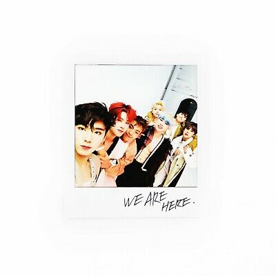 [MONSTA X]2nd Album Take.2 'WE ARE HERE' Official Polaroid/Photocard/GROUP 3