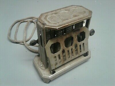 Vintage Electric Toaster Art Deco Style