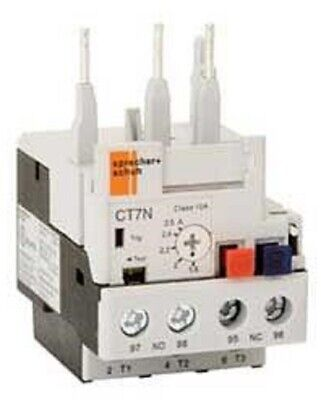 Sprecher+Schuh THERMAL OVERLOAD RELAY For CA6 & CA7 - 0.25-0.4A Or 0.35-0.5A